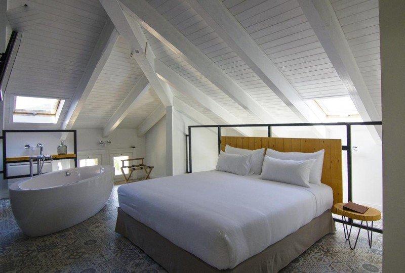 Nueve de las 37 habitaciones son suites de lujo.
