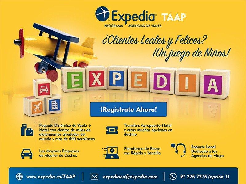 Webinar: Ventajas de las agencias de viaje al reservar con Expedia TAAP