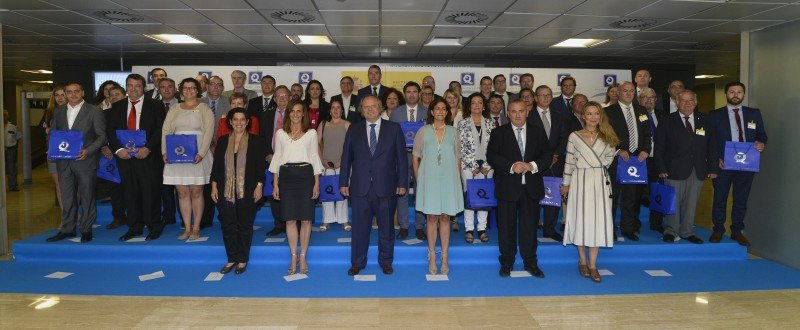 Además de Isabel Borrego y Miguel Mirones, también parctipó la directora de Turespaña, Marta Blanco, y varios directores generales de Turismo de diferentes comunidades autónomas.