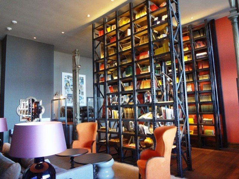 Lobby del nuevo hotel.