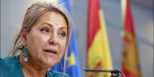 Rosa Valdeón, vicepresidenta y portavoz de la Junta de Castilla y León.