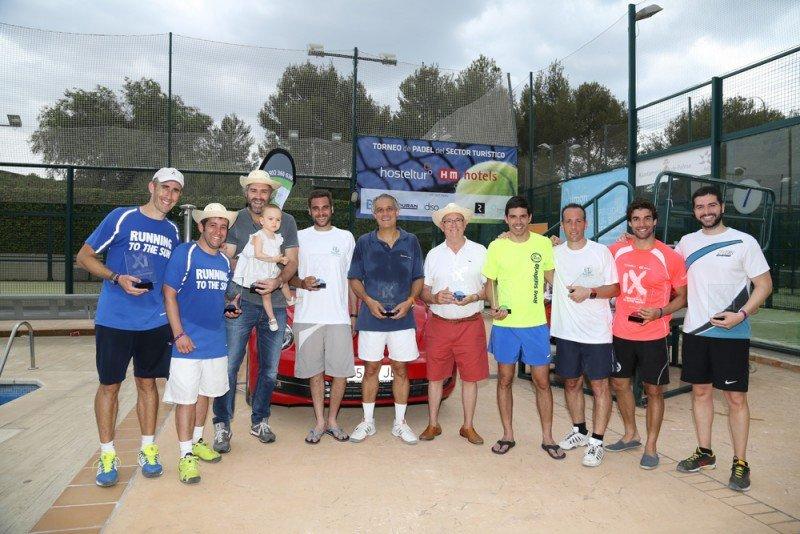 Barceló Hotels gana el IX Torneo de Pádel Hosteltur–HM Hotels