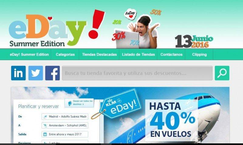 El eDay! para viajes no triunfa en España