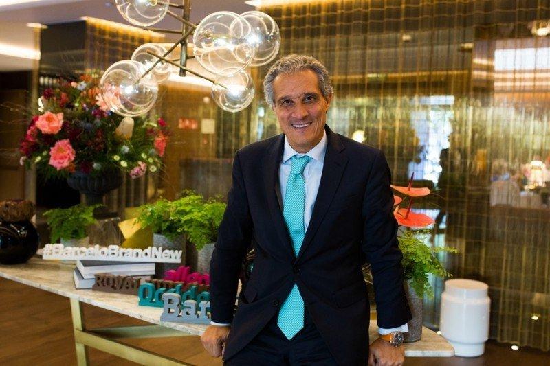 Raúl González, CEO para EMEA (Europa, Oriente Medio y África) de Barceló Hotels