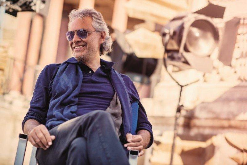 El tenor italiano Andrea Bocelli participará en el acto de inauguración del nuevo barco, con una actuación que durará 40 minutos.