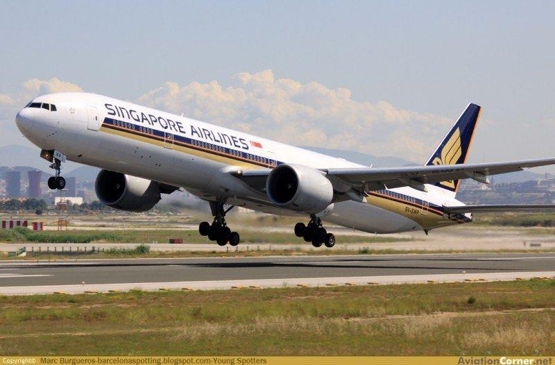 Singapore Airlines suspende sus vuelos entre Barcelona y Sao Paulo (foto: Marc Burgueros).
