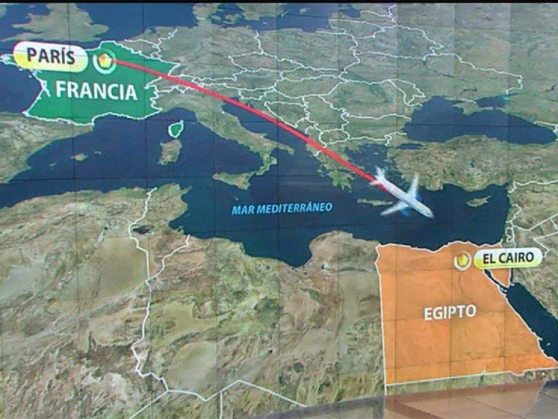 Egyptair: hallan la caja negra de la cabina del A320