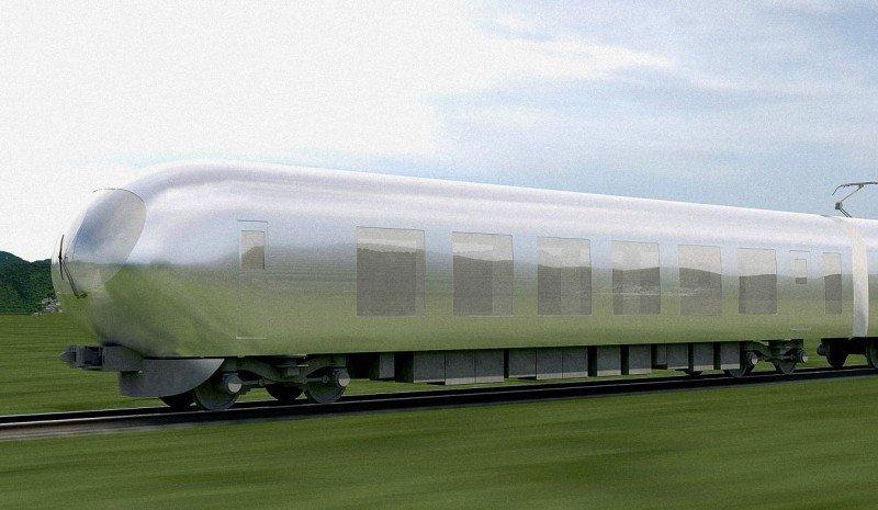 El tren transparente de Japón (vídeo)