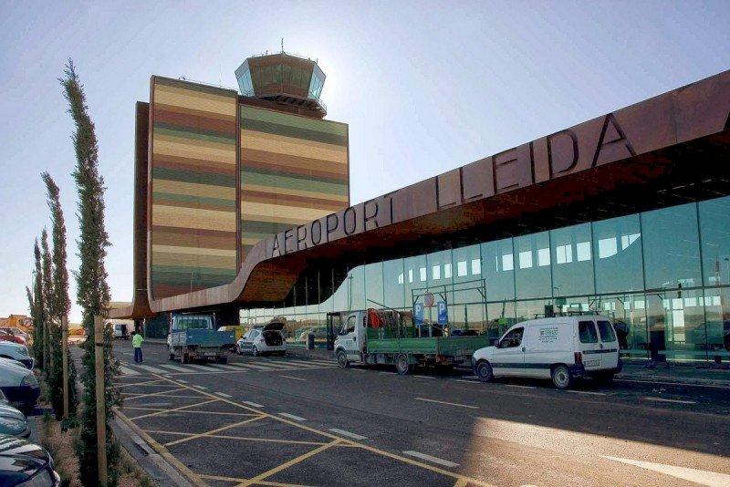 Aeropuerto de LLeida-Alguaire, propiedad de la Generalitat de Catluña.