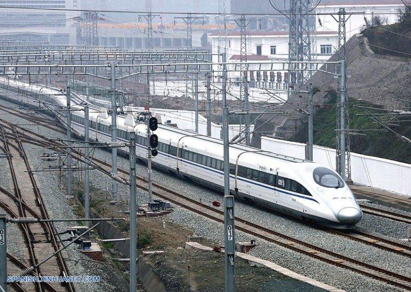 Red de ferrocarriles de China (Foto Agencia Xinhua).