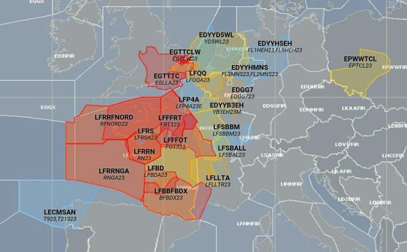Informe de Eurocontrol.