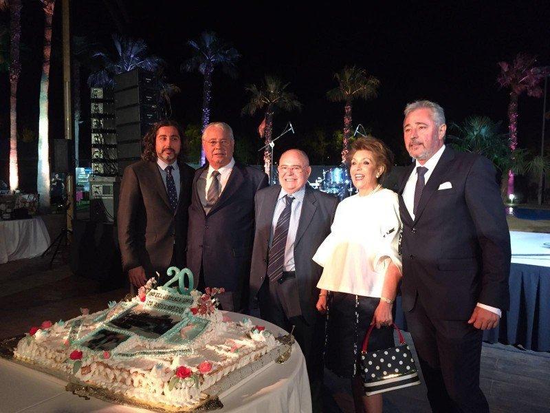Jardines de Lorca celebra su 20 Aniversario con 800 invitados