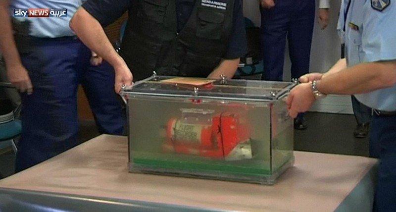 Primera caja negra del avión de Egyptair reparada.