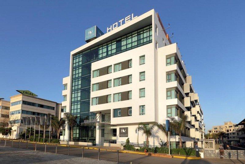 El Eurostars Sidi Maarouf, situado al sur de Casablanca, es un moderno establecimiento de nueva construcción.