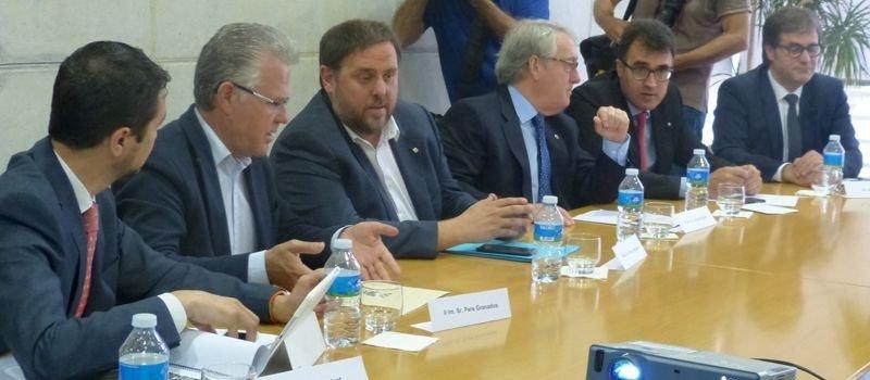 Reunión del Consorcio del Centro Recreativo y Turístico de Vila-seca y Salou.