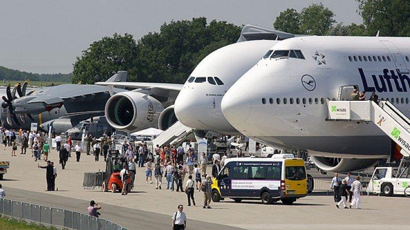 La Feria Internacional de la Aviación de Berlín abre con menos participantes