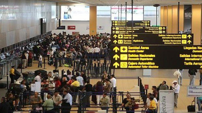Aeropuerto de Lima.