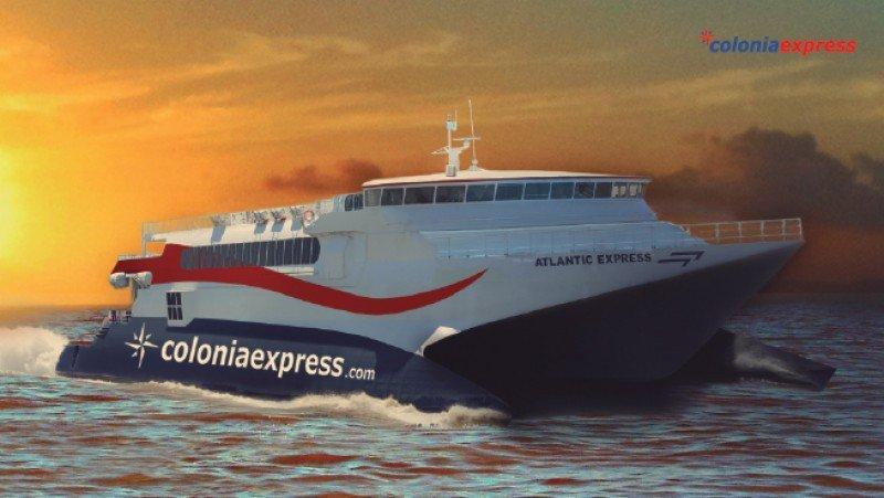 Colonia Express suma destino en Uruguay
