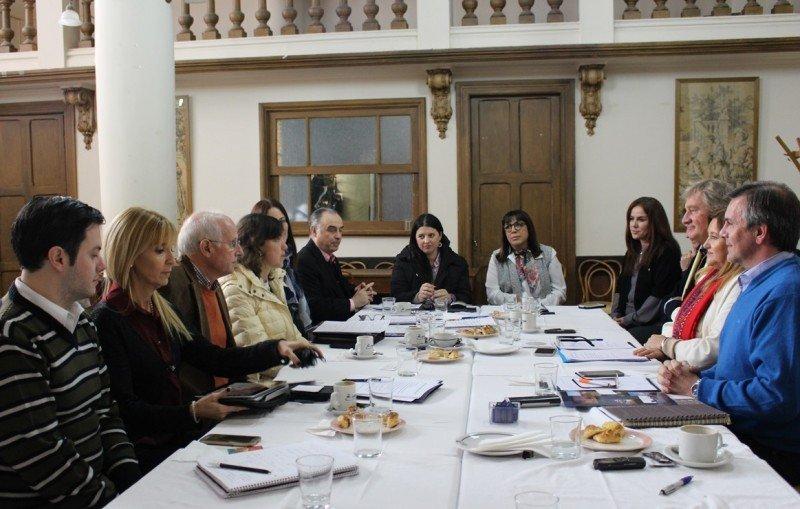 La Comisión Directiva del Ente Patagonia se reunió en Chubut.