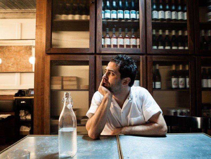 Ignacio Mattos, chef uruguayo al frente del neoyorquino Estela. Foto: Brett Hearing
