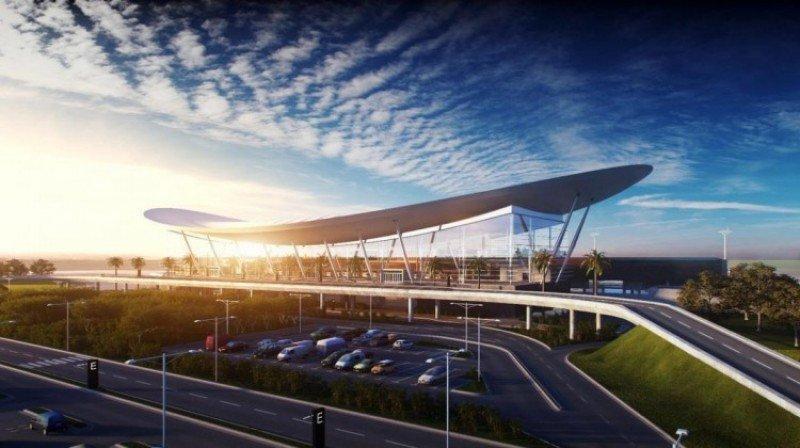 Proyecto de Cedicor para el aeropuerto Pettirossi de Asunción. Foto: La Nación.