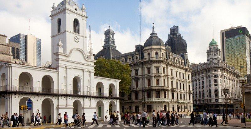 Centro histórico de la ciudad de Buenos Aires.