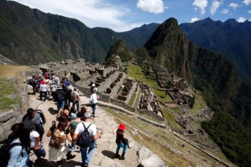 Aumentan 6,7% los turistas en Perú en primer cuatrimestre