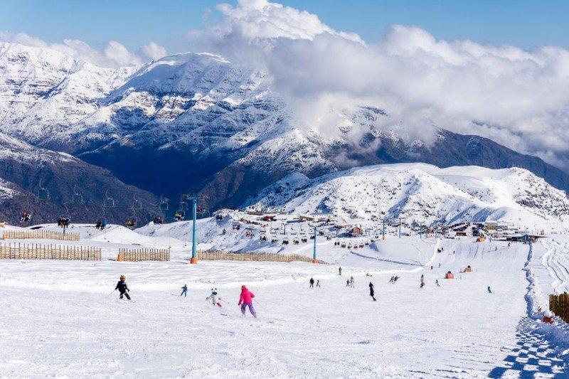 Centro de esquí El Colorado.