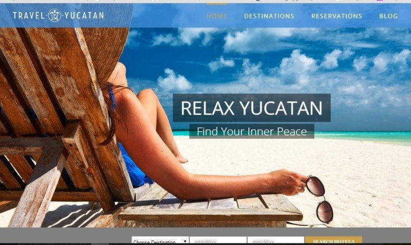 Travel Yucatan relanza su sitio web