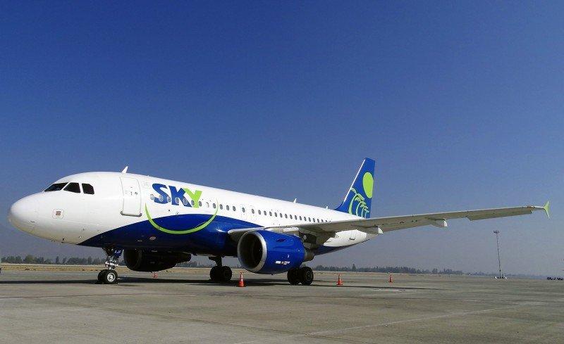 Sky Airline iniciará vuelos diarios Santiago-Montevideo el 12 de septiembre