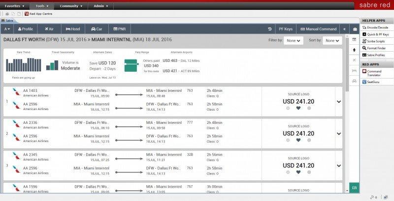 El nuevo sistema combina datos con un diseño intuitivo apuntando a desarrollar experiencias personalizadas de viaje.