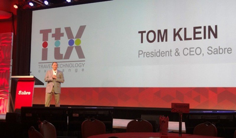 'Creo que lo que estamos lanzando hace la diferencia con el resto de la industria', afirmó Tom Klein, presidente y CEO de Sabre.