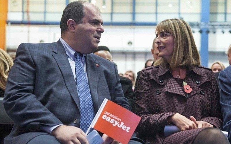 El fundador y la CEO de easyJet estuvieron haciendo campaña por la permanencia en la Unión Europea hasta unas horas antes del referendum.