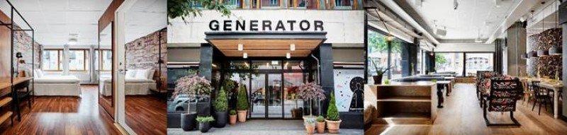 Diferentes estancias del nuevo Generator Estocolmo.