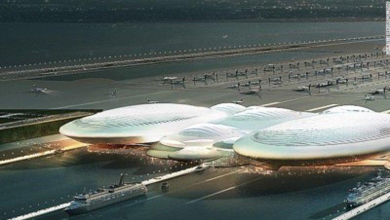 Fotonoticia: Aeropuertos flotantes para cuando no hay terreno disponible
