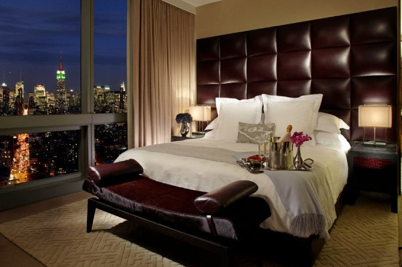 Una habitación del Trump SoHo New York. Credit Trump Hotels
