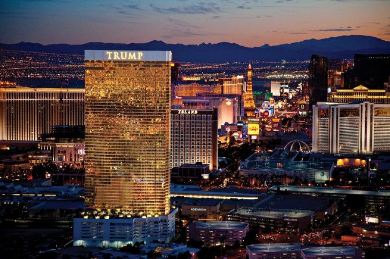Trump International Hotel Las Vegas. Credit Trump Hotels