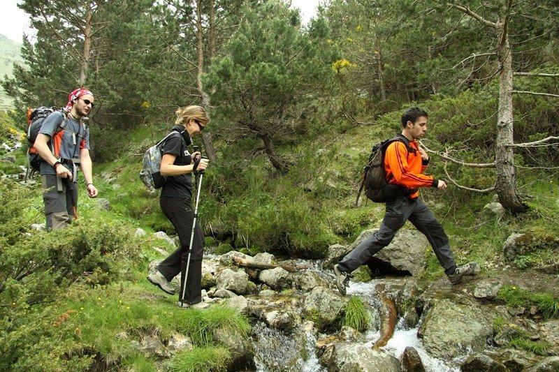 El proyecto desarrollará rutas de senderismo.