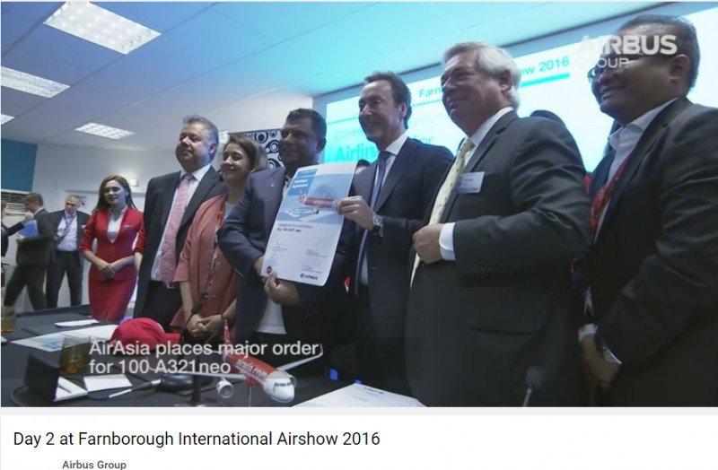 Airbus necesita 300 pedidos para cumplir su objetivo anual (vídeo)