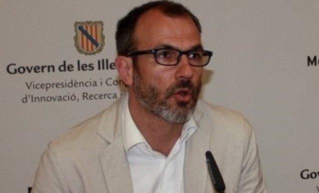 Biel Barceló, conseller de Innovación, Investigación y Turismo de Baleares.