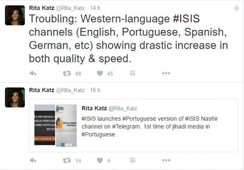 Nuevo canal del IS en portugués, además de español, inglés, alemán, etc.