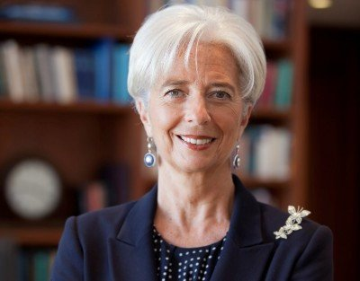 Christine Lagarde, directora gerente del FMI.