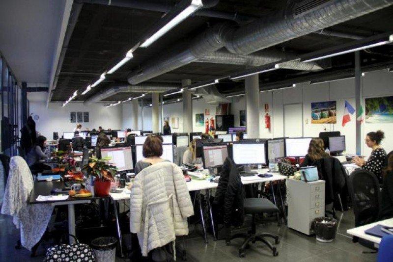 Oficina de Lowcostholidays Spain en el Parc Bit. Foto: Majorca Daily Bulletin.