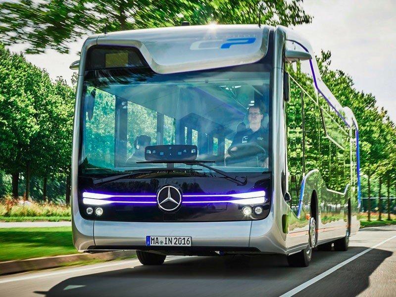 La compañía Daimler y su proyecto Future Bus