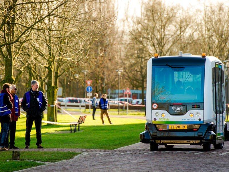Proyecto de Microbuses autónomos llamados WePod