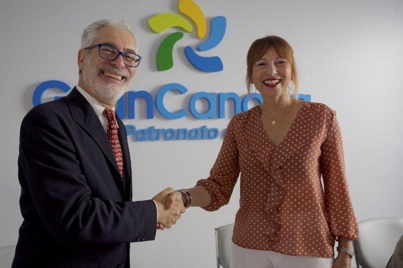 El convenio ha sido firmado por la consejera de Turismo del Cabildo de Gran Canaria, Inés Jiménez, y el rector de la Universidad de Las Palmas de Gran Canaria, José Regidor.