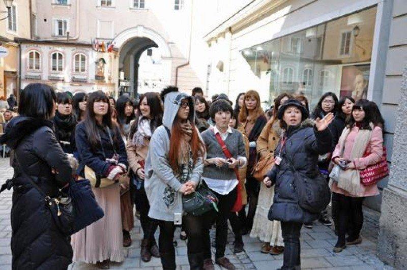 Los cinco perfiles del turista chino