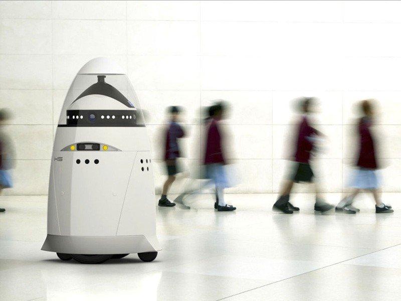 La empresa Knightscope ha creado el robot K5