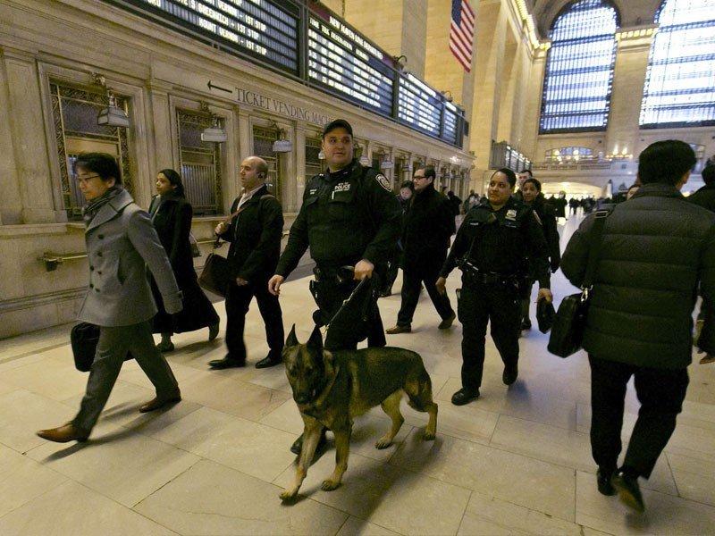 La seguridad en las estaciones de tren de Nueva York aumenta por los trágicos incidentes en países como Francia, Bélgica o Alemania.
