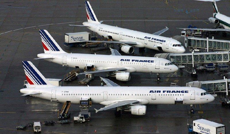 Huelga de tripulantes de cabina de Air France